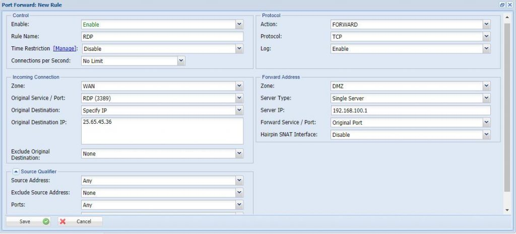 How To Configure The Port Forward_2