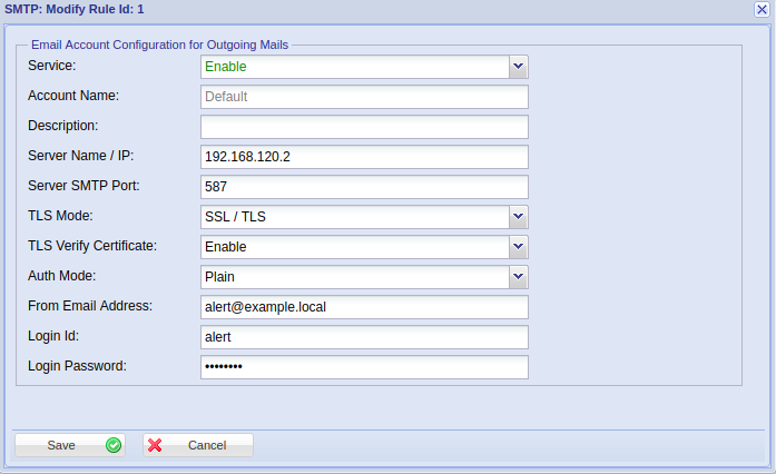 How to configure the Email and SMS Settings